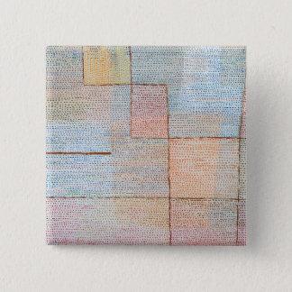 Bóton Quadrado 5.08cm Esclarecimento de Paul Klee