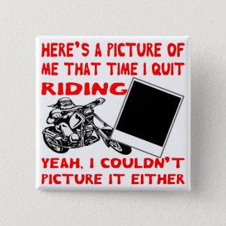Bóton Quadrado 5.08cm Está aqui uma imagem de mim que tempo eu paro