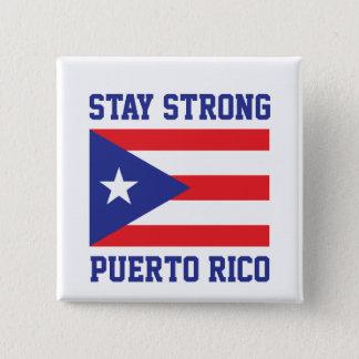 Bóton Quadrado 5.08cm Estada Puerto Rico forte
