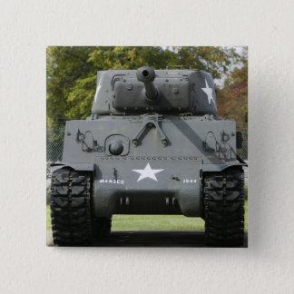 Bóton Quadrado 5.08cm EUA, Kentucky, forte Knox: Museu de Patton de