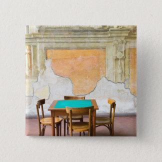 Bóton Quadrado 5.08cm Europa, Italia, Campania (península de Sorrento)
