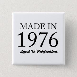 Bóton Quadrado 5.08cm Feito em 1976