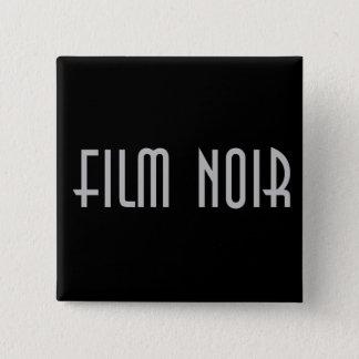 Bóton Quadrado 5.08cm Filme Noir