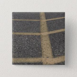 Bóton Quadrado 5.08cm Fotografia do pavimento