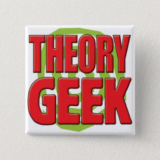 Bóton Quadrado 5.08cm Geek da teoria