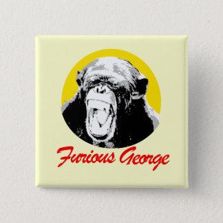 Bóton Quadrado 5.08cm George furioso