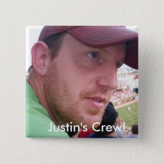 Bóton Quadrado 5.08cm Grupo do semicolon de Justin!