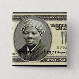 Bóton Quadrado 5.08cm Harriet Tubman