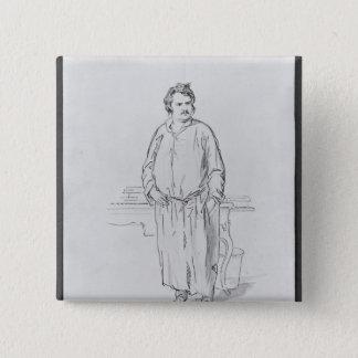 Bóton Quadrado 5.08cm Honore de Balzac