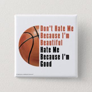 Bóton Quadrado 5.08cm Im Im bonito bom basquetebol