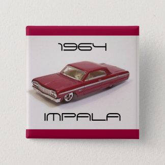 Bóton Quadrado 5.08cm Impala 1964