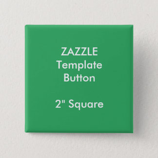 """Bóton Quadrado 5.08cm Impressão feito sob encomenda 2"""" modelo quadrado"""