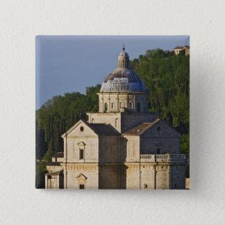 Bóton Quadrado 5.08cm Italia, Toscânia, Montepulciano. Igreja de San