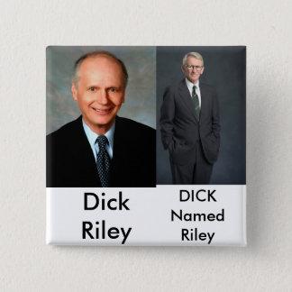 Bóton Quadrado 5.08cm Joe riley, mau! - Personalizado - Cu… -