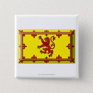 Bóton Quadrado 5.08cm Jóia da bandeira do leão de Scotland
