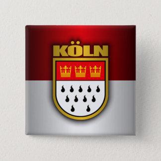 Bóton Quadrado 5.08cm Koln (água de Colônia)