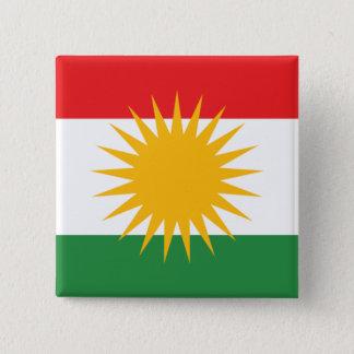 Bóton Quadrado 5.08cm kurdistan