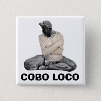 BÓTON QUADRADO 5.08CM LOUCO DE COBO