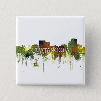 Bóton Quadrado 5.08cm Lustre do safari da skyline de Chatanooga