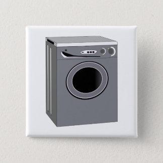 Bóton Quadrado 5.08cm Máquina de lavar