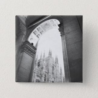 Bóton Quadrado 5.08cm Milão Italia, opinião da galeria do domo