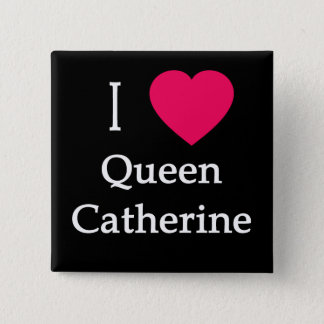 Bóton Quadrado 5.08cm Mim roupa da rainha Catherine do coração, botões,