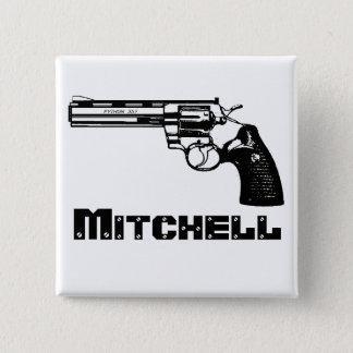 Bóton Quadrado 5.08cm Mitchell!