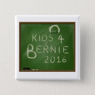 Bóton Quadrado 5.08cm Miúdos para Bernie 2016