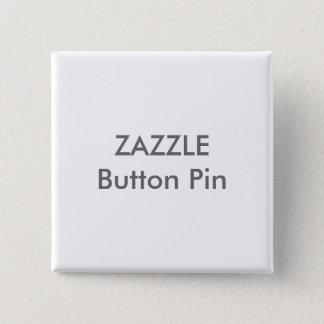 Bóton Quadrado 5.08cm Modelo vazio do Pin do botão quadrado feito sob