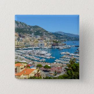 Bóton Quadrado 5.08cm Monaco Monte - fotografia de Carlo