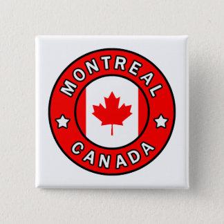 Bóton Quadrado 5.08cm Montreal Canadá