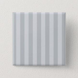 Bóton Quadrado 5.08cm Mude listras cinzentas a todo o clique da cor
