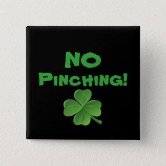 Bóton Quadrado 5.08cm Nenhum botão do dia de Patrick de santo compressor