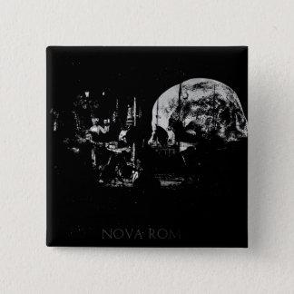 Bóton Quadrado 5.08cm Nova Roma