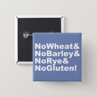 Bóton Quadrado 5.08cm NoWheat&NoBarley&NoRye&NoGluten! (branco)