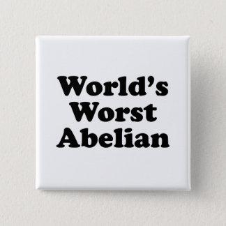 Bóton Quadrado 5.08cm O Abelian o mais mau do mundo