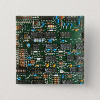 Bóton Quadrado 5.08cm O conselho de circuito impresso do computador