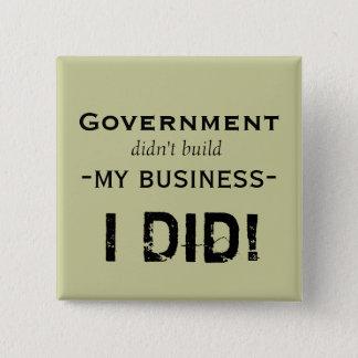 Bóton Quadrado 5.08cm O governo…