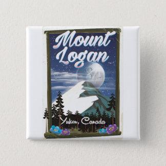 Bóton Quadrado 5.08cm O Maciço Logan, Yukon, Canadá