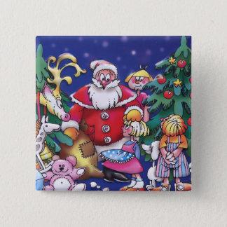 Bóton Quadrado 5.08cm O Special caçoa o botão do Natal