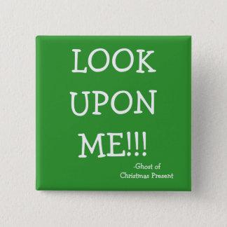 Bóton Quadrado 5.08cm Olhe - a série de Scrooge