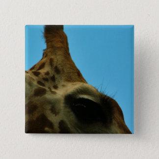 Bóton Quadrado 5.08cm olho do girafa