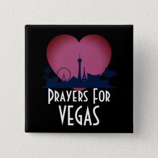 Bóton Quadrado 5.08cm Orações para Las Vegas