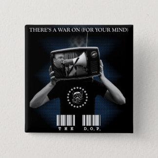 """Bóton Quadrado 5.08cm Os D.O.P. - Há uma guerra em 2"""" botão quadrado"""