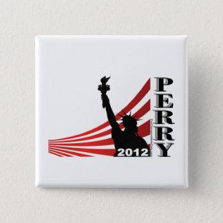 Bóton Quadrado 5.08cm Perry 2012 - Presidente