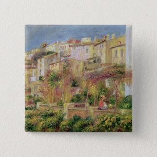 Bóton Quadrado 5.08cm Pierre um terraço de Renoir | em Cagnes
