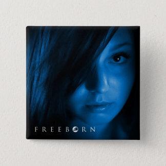 Bóton Quadrado 5.08cm Pin Freeborn de Sherri