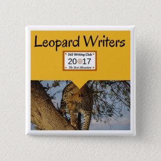 Bóton Quadrado 5.08cm Pinos do leopardo!