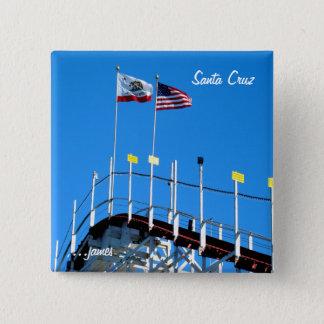 Bóton Quadrado 5.08cm Porta copos de Santa Cruz