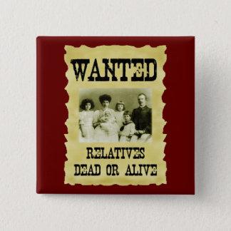 Bóton Quadrado 5.08cm Poster querido